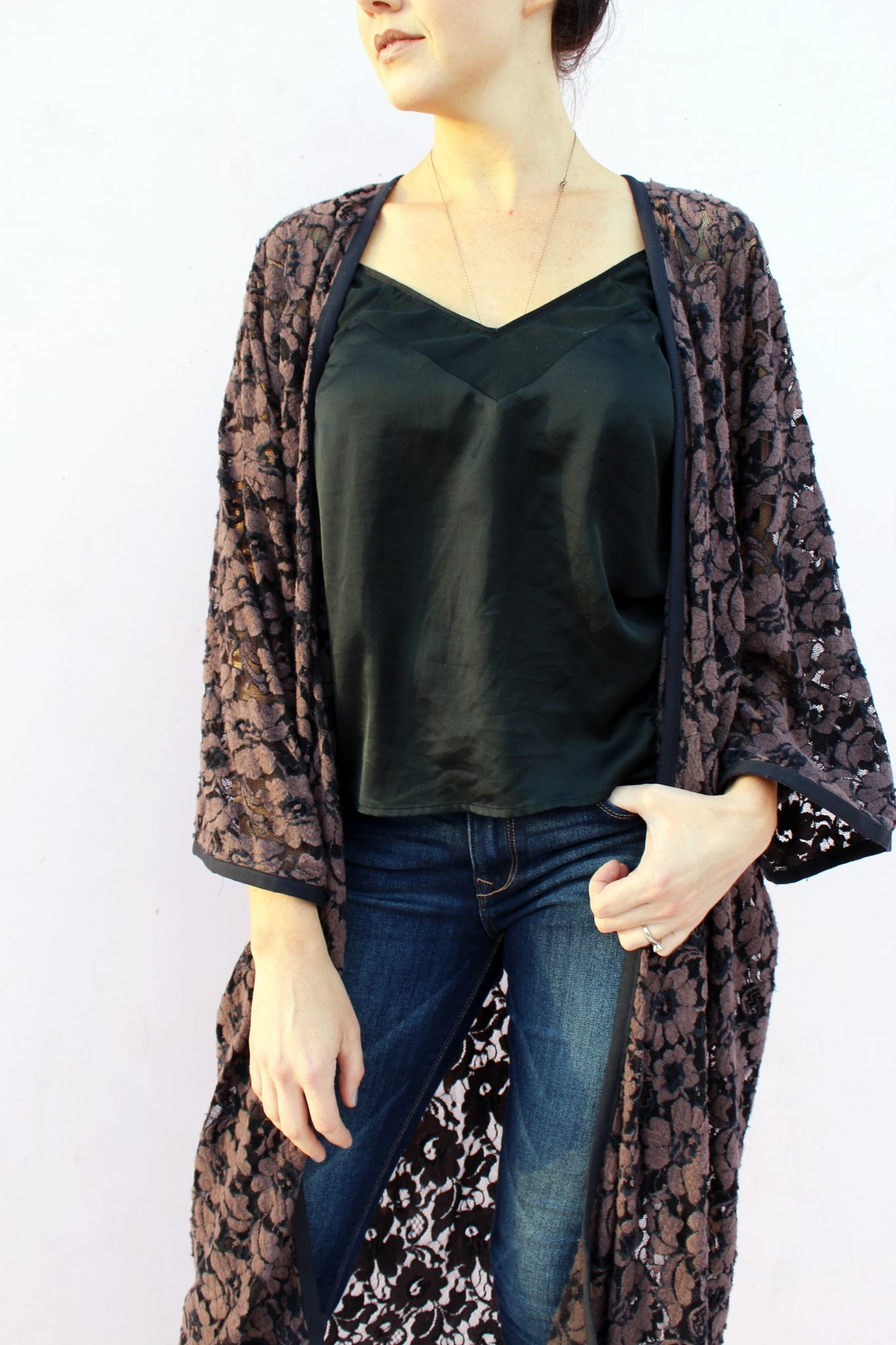 Easy Diy Lace Kimono Cardigan Creative Fashion Blog
