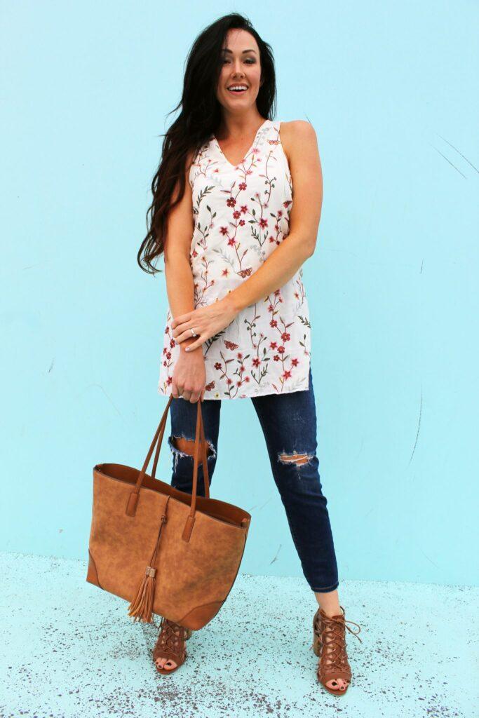Easy DIY Tunic Dress for Summer - Creative Fashion Blog
